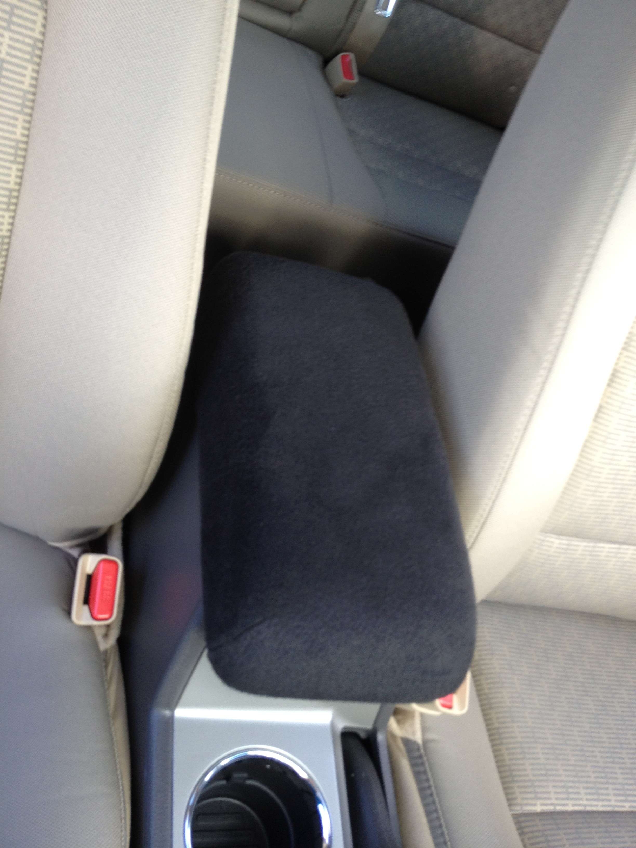 Fleece Console Cover - Acura TL 2004-16