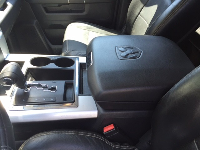 Fleece Console Cover - Ram 1500, 2500, & 3500 (2012-2020 Classic)