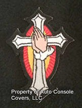 "Cross With Praying Hands 3"" (Patch Only)"