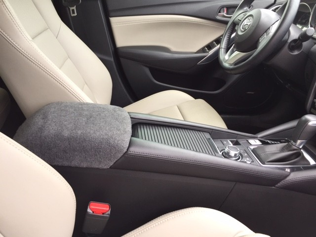Fleece Console Cover - Mazda CX5 2017