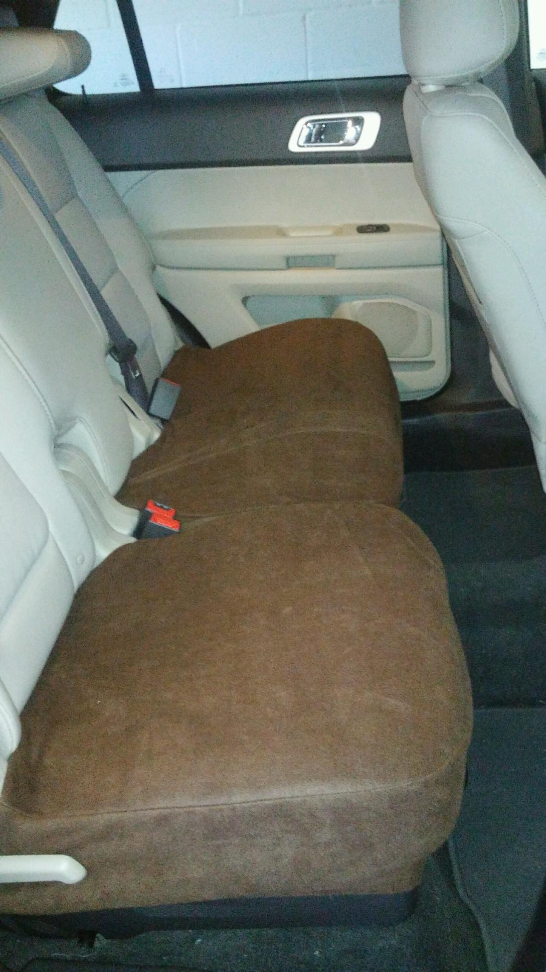 Rear Split Bench Bottom Seat Covers- Fleece Jeep Grand Cherokee 2010-17