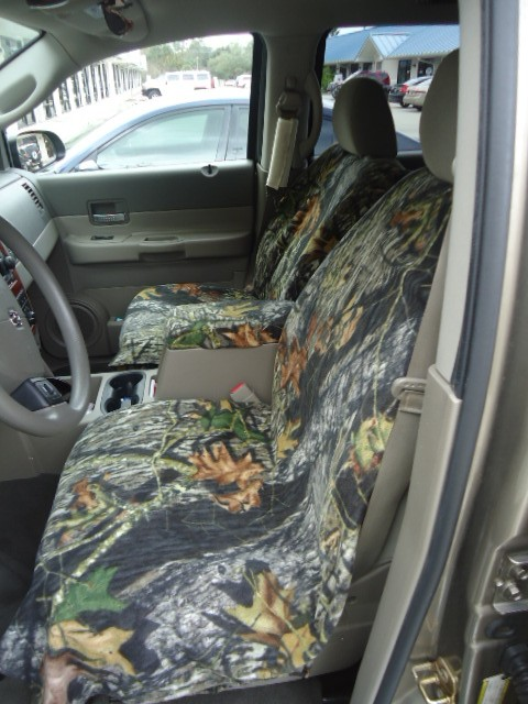 Mossy Oak Slip-On Bucket Seat Cover (SINGLE)