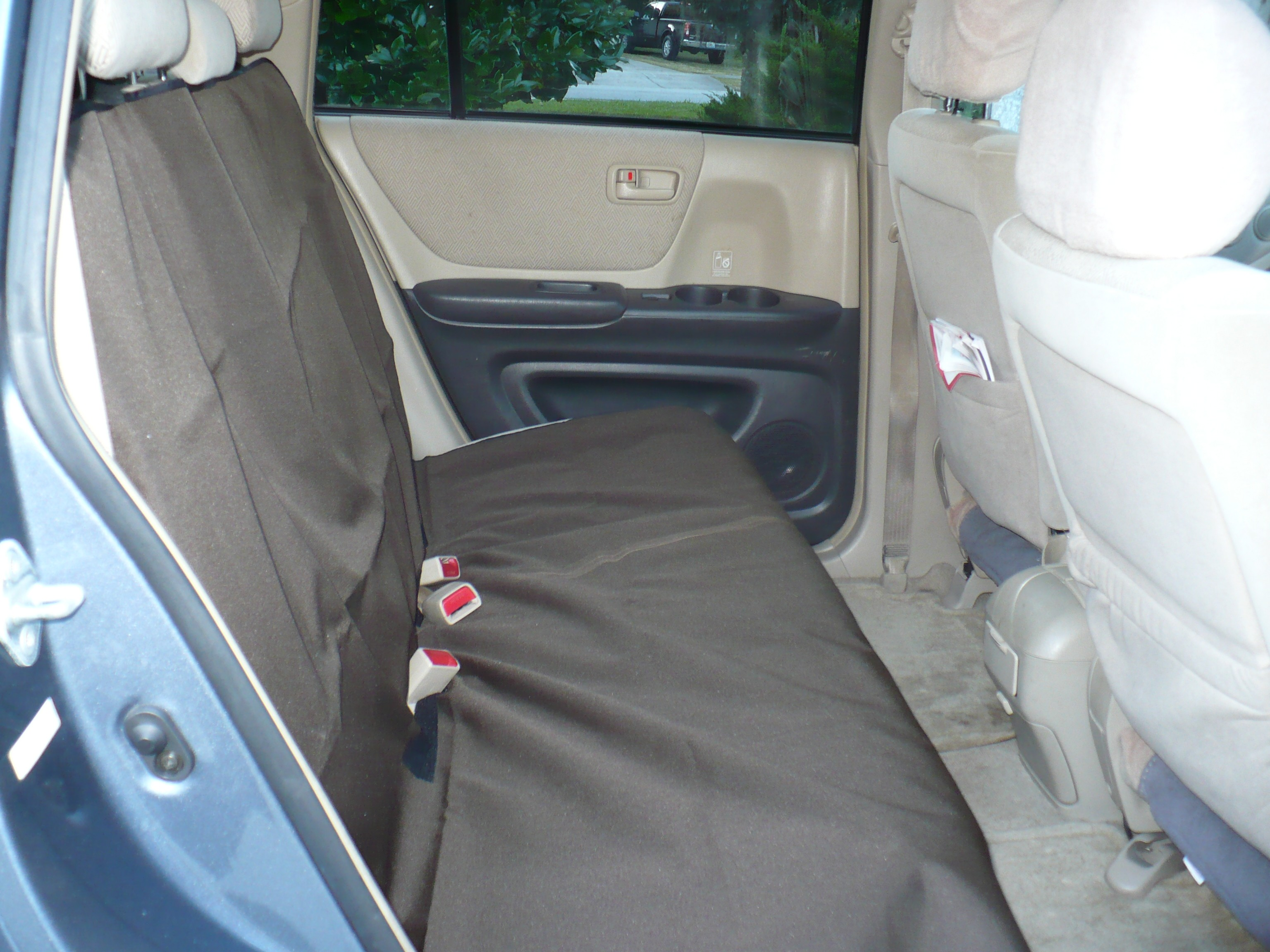 Rear Pet Seat Cover - All SUVs & Sedans