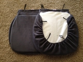 Padded Bottom Seat Covers ONE PAIR