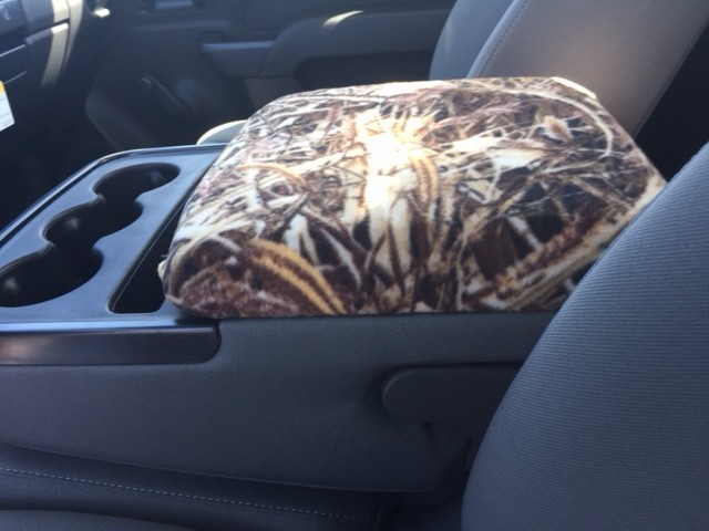 Fleece Console Cover - Chevy Silverado 1500, 2500 LT, LS and SLE Models (2014-2020)