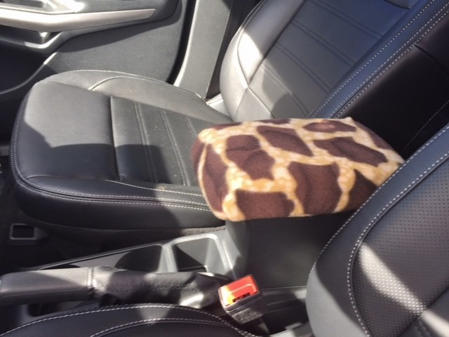 Fleece Console Cover - Ford Eco-Sport 2018-2020