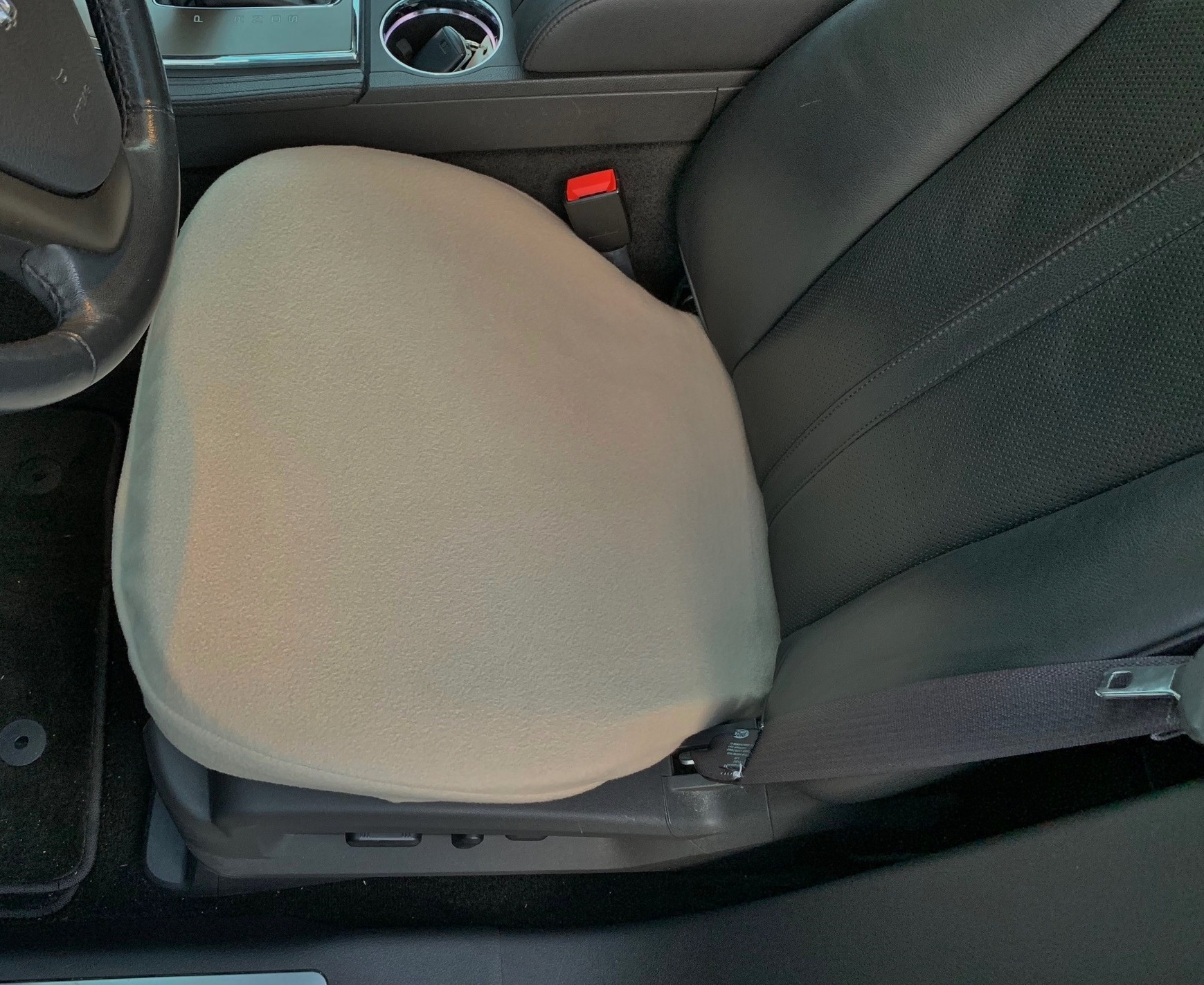 Fleece Bottom Seat Cover For Buick Rendezvous 2000 08 Single