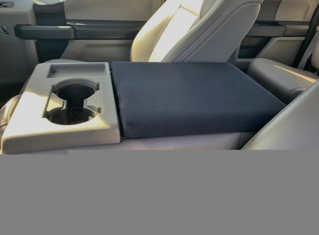 Neoprene Console Cover - Ford Truck F-150 (2016-2020) - Fold down middle seat with console