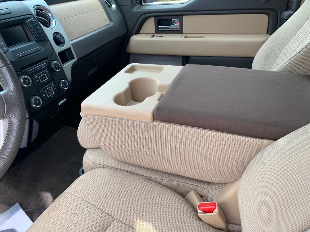 Neoprene Console Cover- Ford Truck F-250 (2016-2020), Fold down middle seat with center console