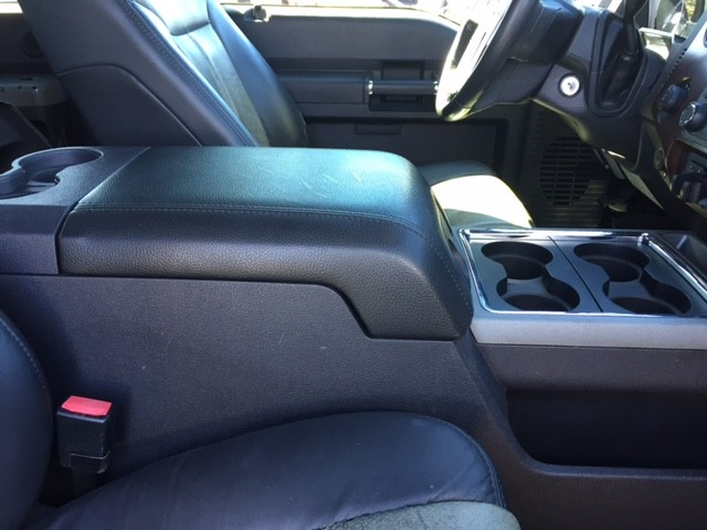 Fleece Console Cover - Ford F-250 Super Duty (2010-2016)