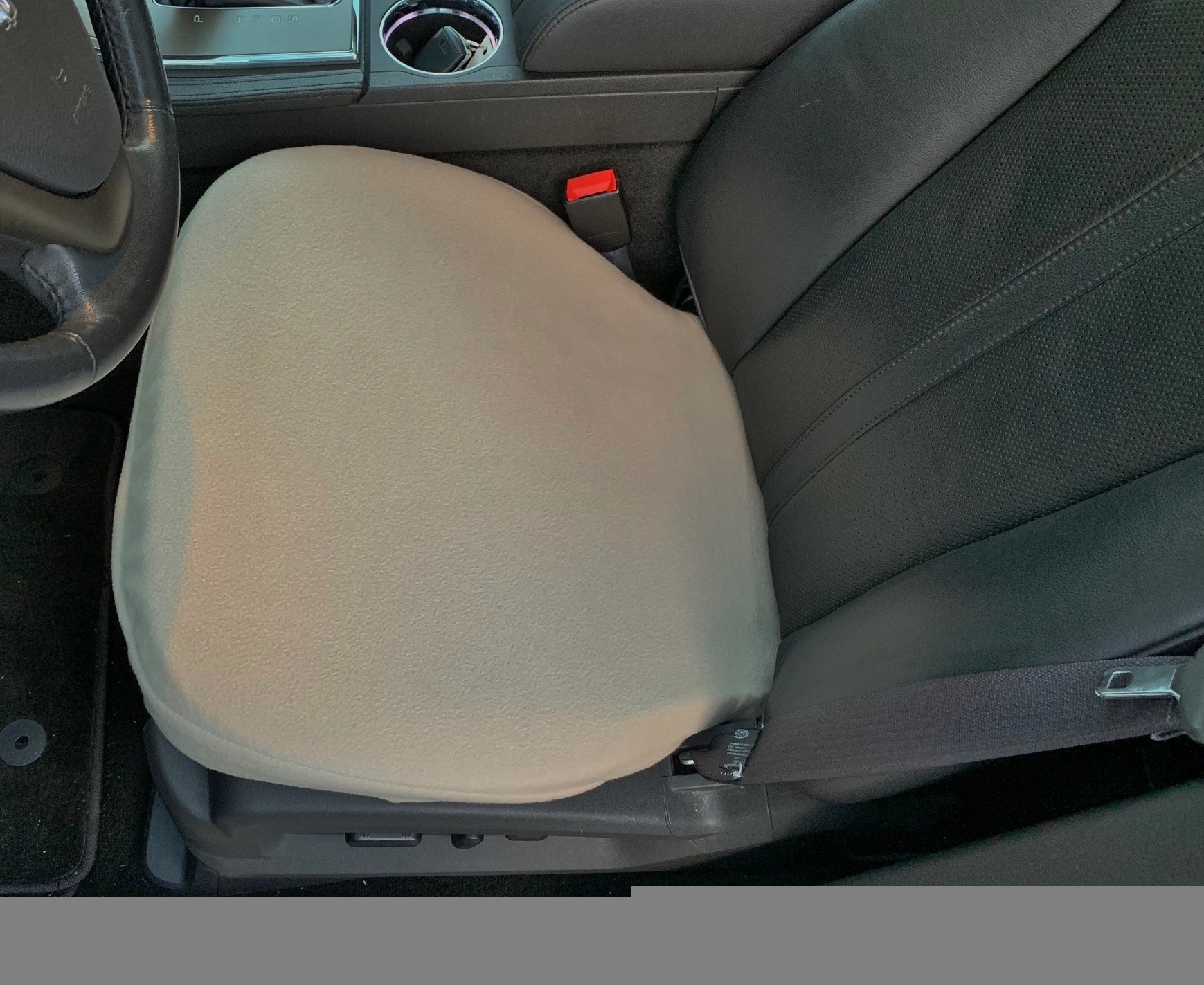 Fleece Bottom Seat Cover for Ford F-150, F-250, F-350 2000-19 (PAIR)