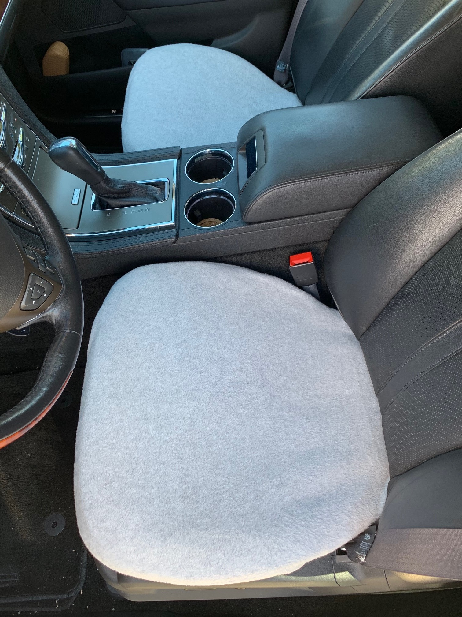 Fleece Bottom Seat Cover for Ford F-150, F-250, F-350 2000-19 (SINGLE)