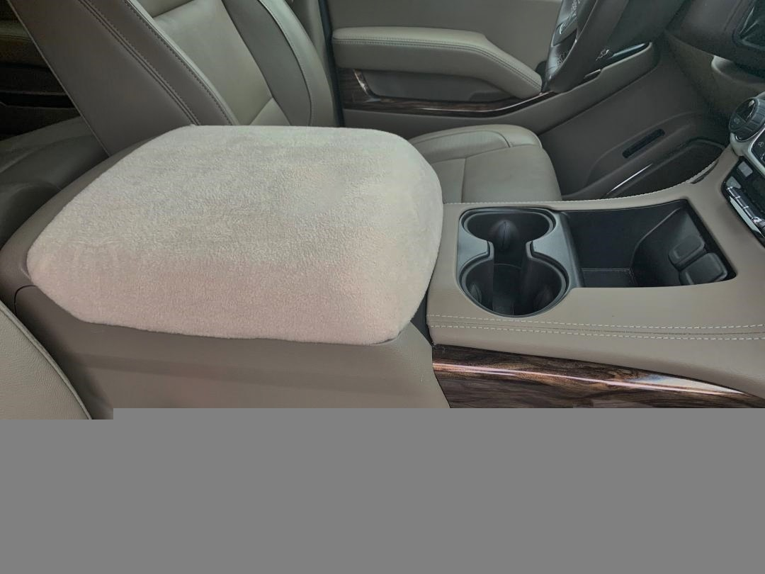 Buy Fleece Center Console Armrest Covers GMC Sierra SLT, 2014-2021