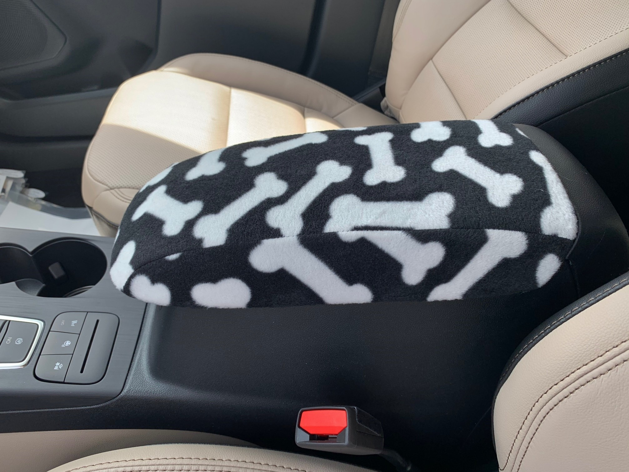 Buy Fleece Center Console Armrest Cover fits the Ford Escape 2020-2021
