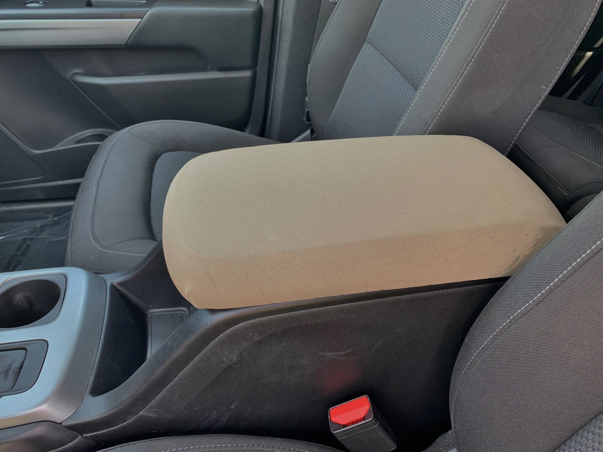 Neoprene Center Console Armrest Cover - GMC Canyon 2015-2020