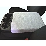 Fleece Center Console Armrest Cover-Chevrolet Silverado 1500, 2500 LT, LS & WT 2007-2013