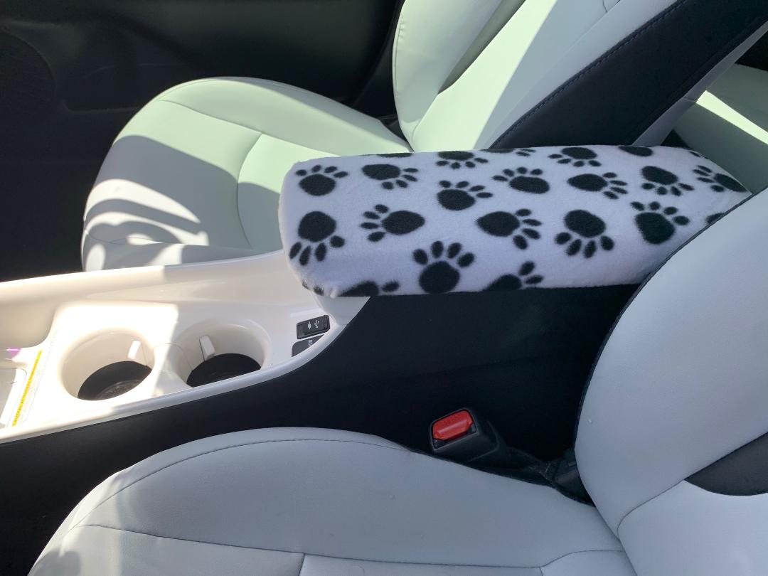 Fleece Center Console Armrest Cover - Toyota Prius 3, 4 & Prime 2016-2020