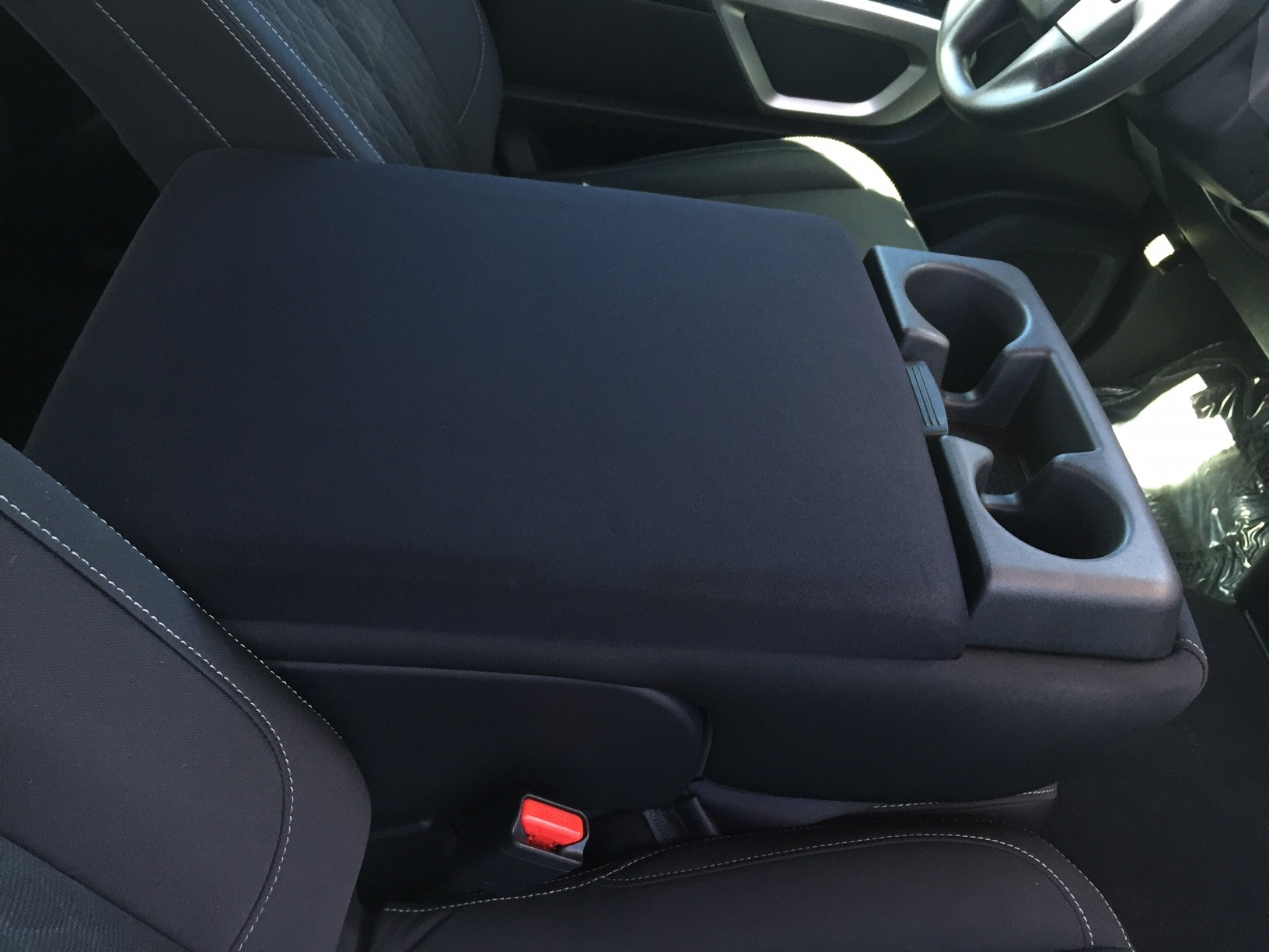 Nissan Titan 2004-12 - (With Third Front Middle Seat)-Neoprene Material