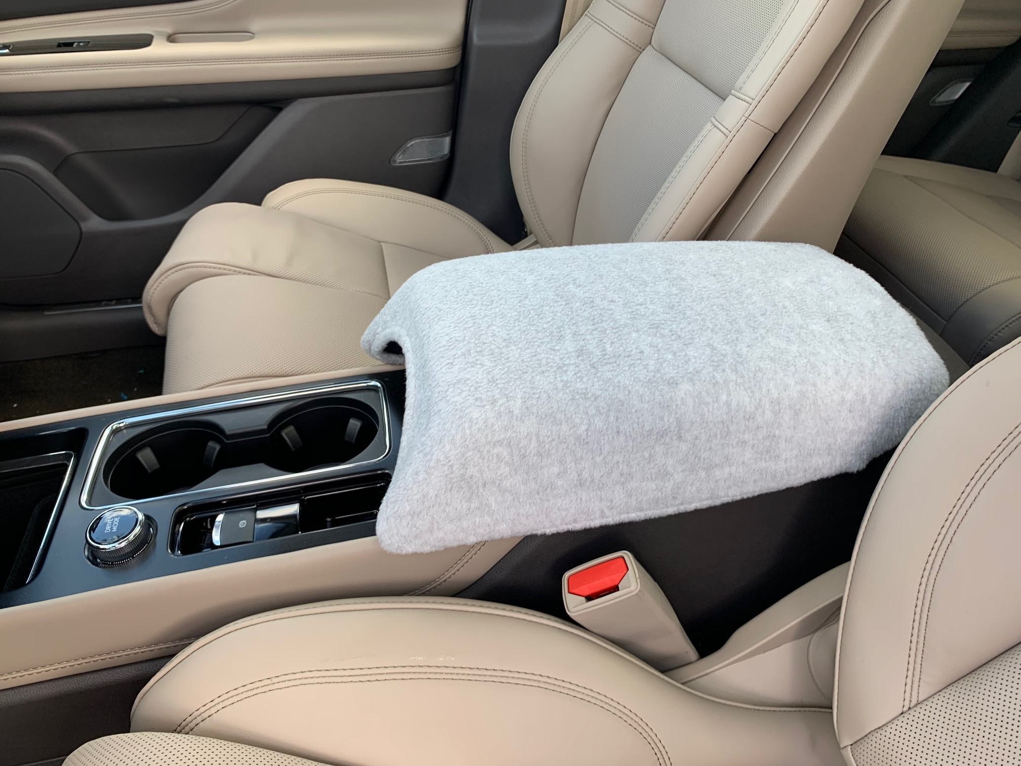 Buy Fleece Center Console Armrest Cover Fits the Lincoln Corsair 2020-2021