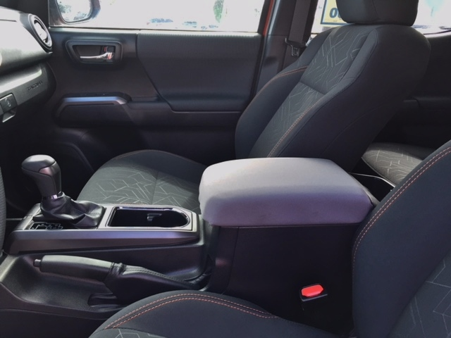 Buy Neoprene Center Console Armrest Cover fits the Toyota Tacoma 2018-2021