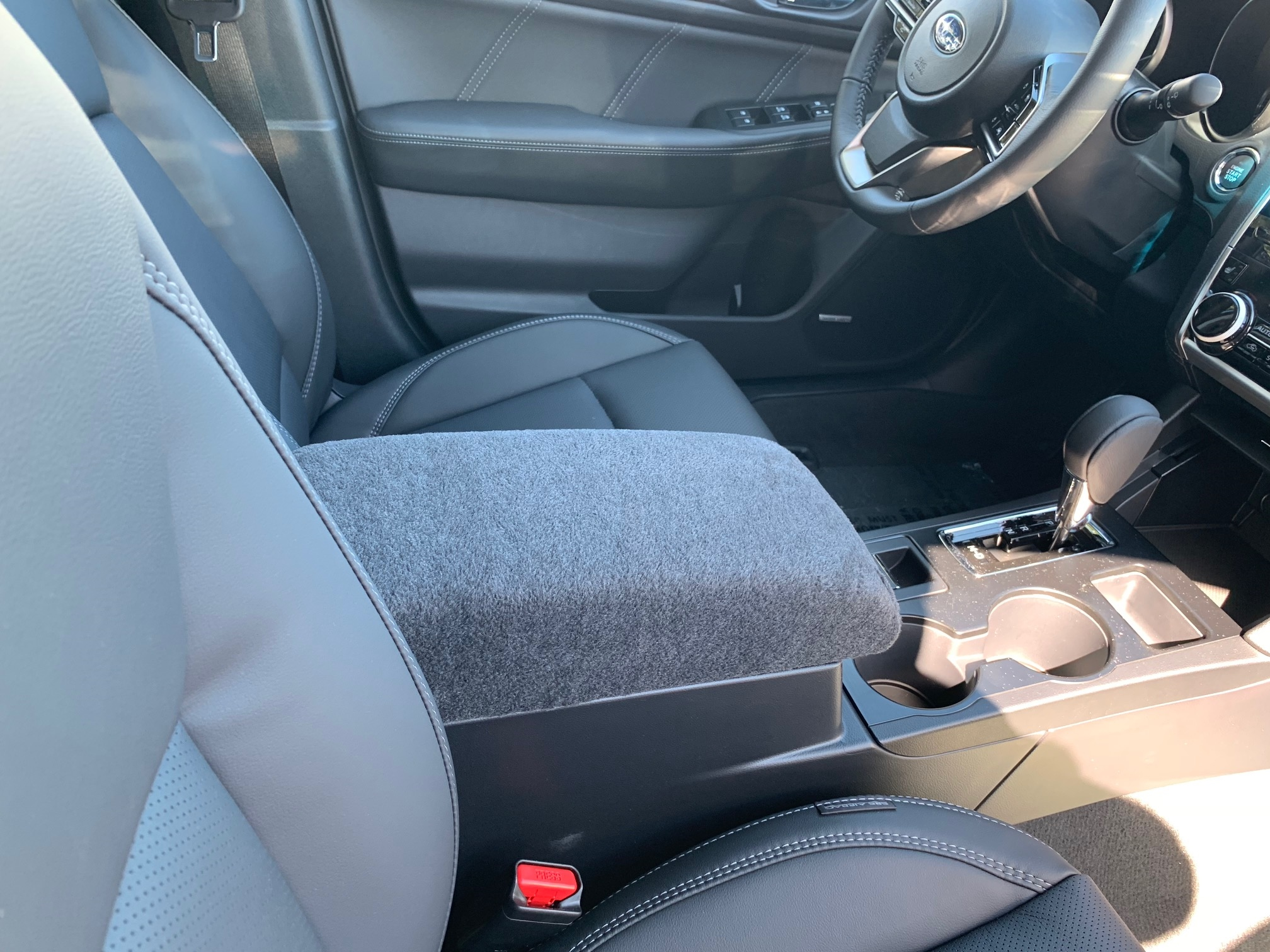 Buy Fleece Center Console Armrest Cover fits the Subaru Outback 2015-2019