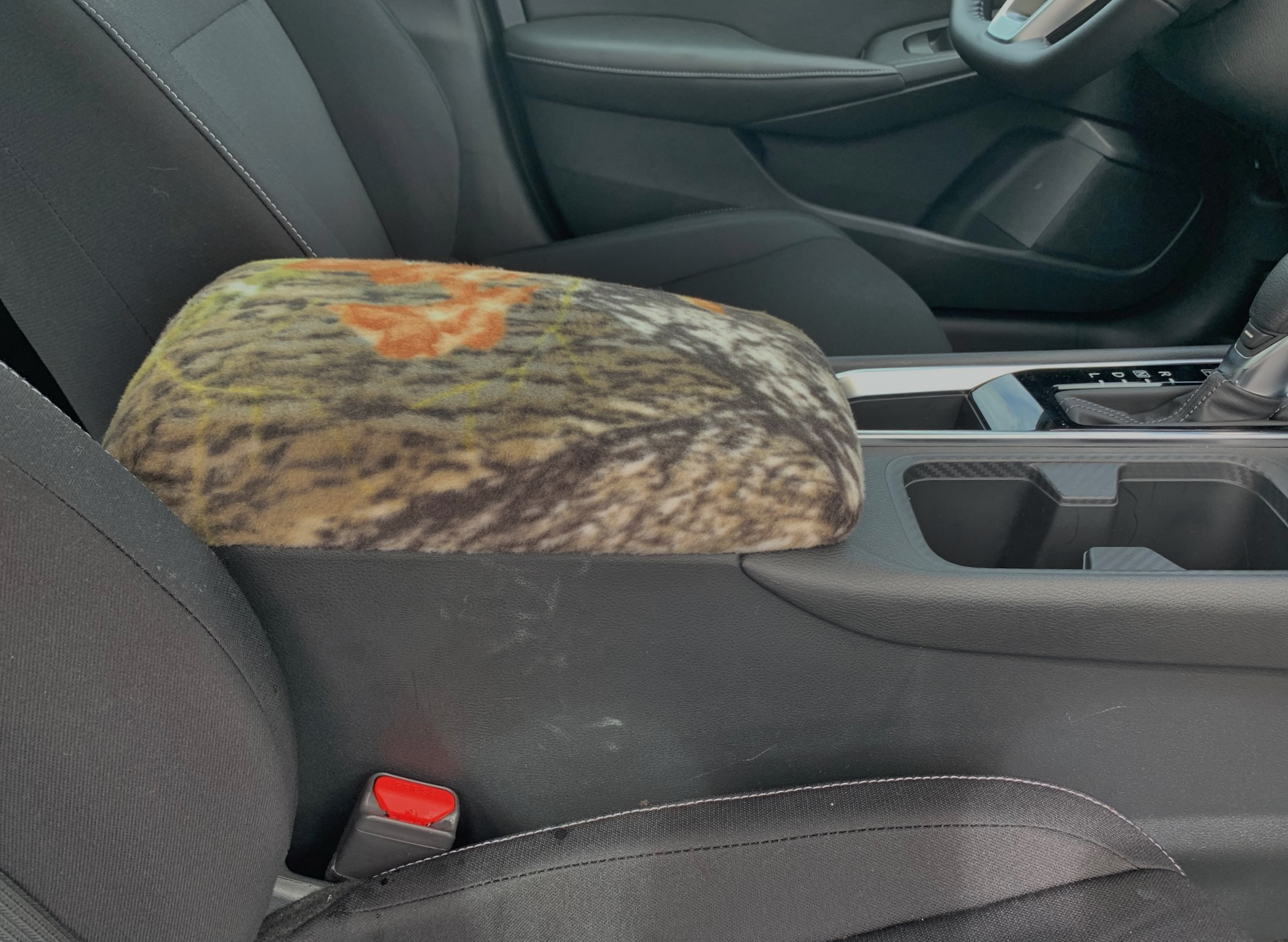 Buy Fleece Center Console Armrest Cover fits the Nissan Sentra 2020-2021