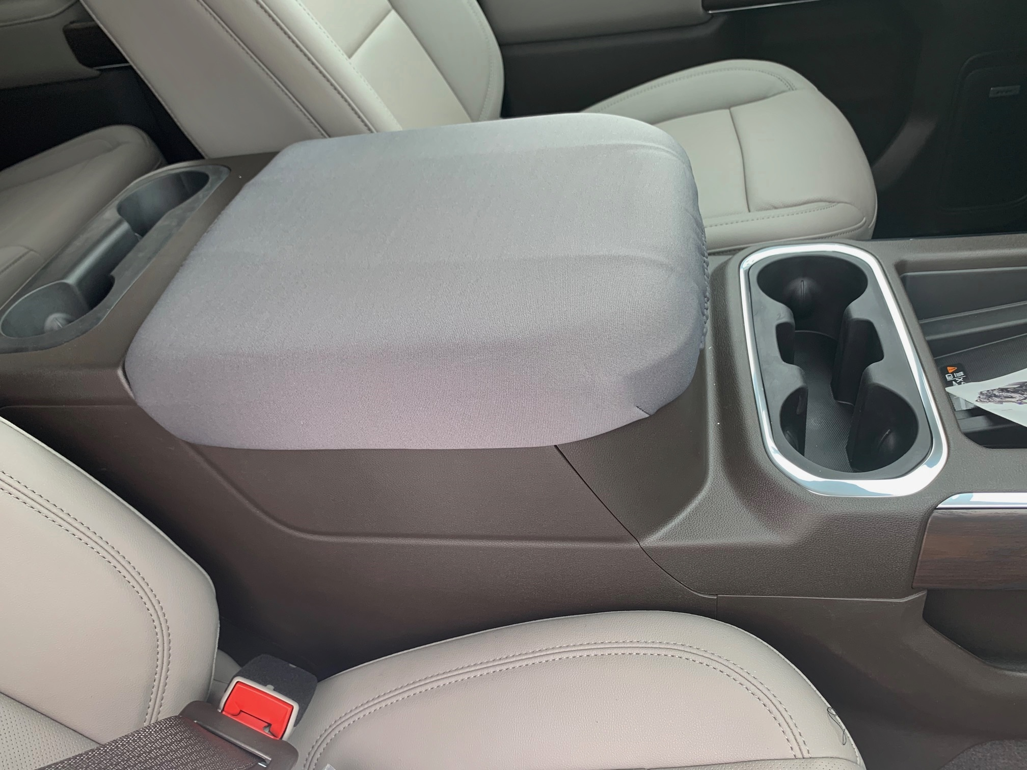 Buy Neoprene Center Console Armrest Cover Fits the GMC Sierra SLT 2019-2021