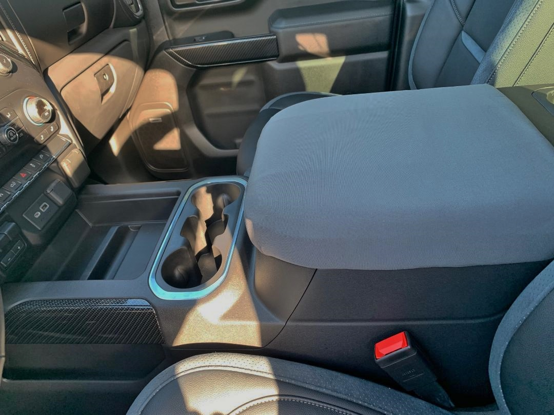Buy Neoprene Center Console Armrest Cover Fits the Chevrolet Silverado (High Country, LTZ, & Z71) 2019-2021