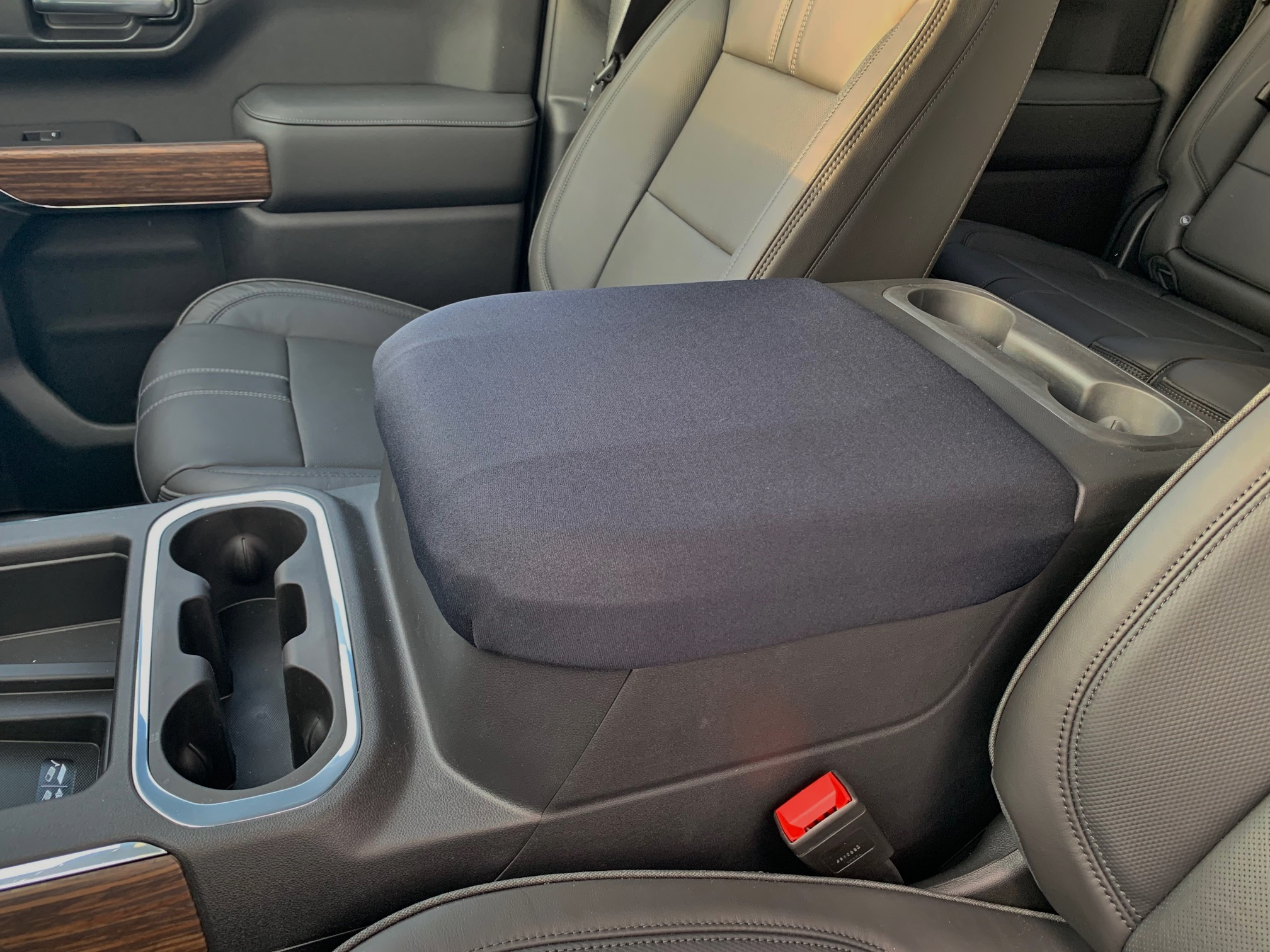 Buy Neoprene Center Console Armrest Cover Fits the Chevy Tahoe 2019-2021 Custom fit cover for the center console armrest