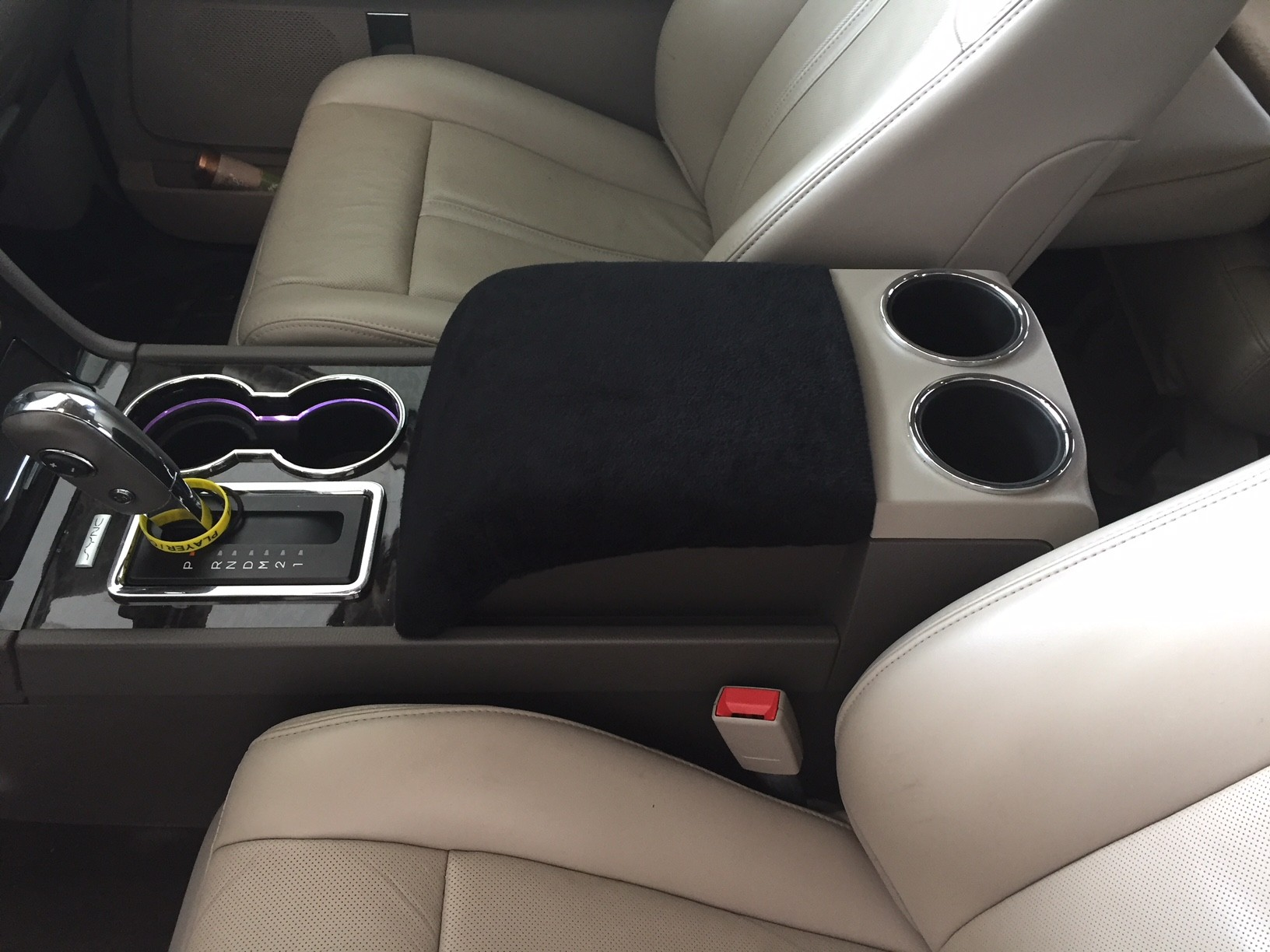 Fleece Console Cover - Lincoln Navigator 2007-2017 - Fleece Material