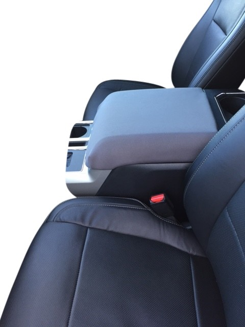 TAITONG F150 Console Armrest Cushion Automotive Customized Console Armrest Cushion Compatible with Ford F150 Accessories 2015-2020 Armrest Cover Arm Rest Cushion Pad Black