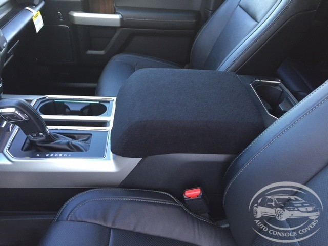 Fleece Center Console Armrest Cover - Ford F-350 Super Duty (2017-2020)