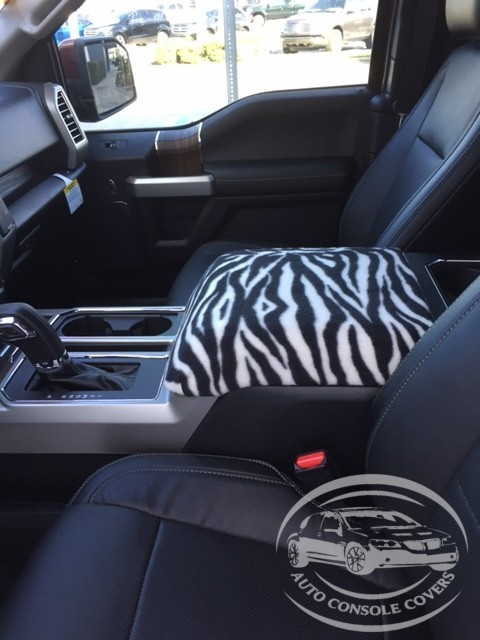 Fleece center Console Armrest Cover - Ford F-250 Super Duty (2017-2020)