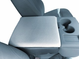 Fleece Console Cover-Ford F-250 (2016-2020) Fold down middle seat with console