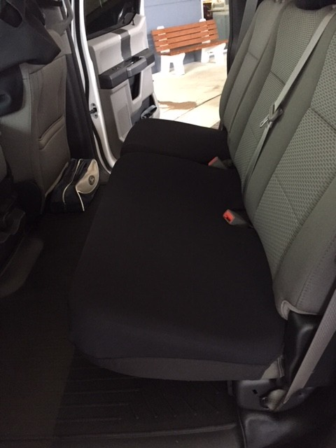 Rear Split Bench Bottom Seat Covers Neoprene Jeep Grand Cherokee 2010 17