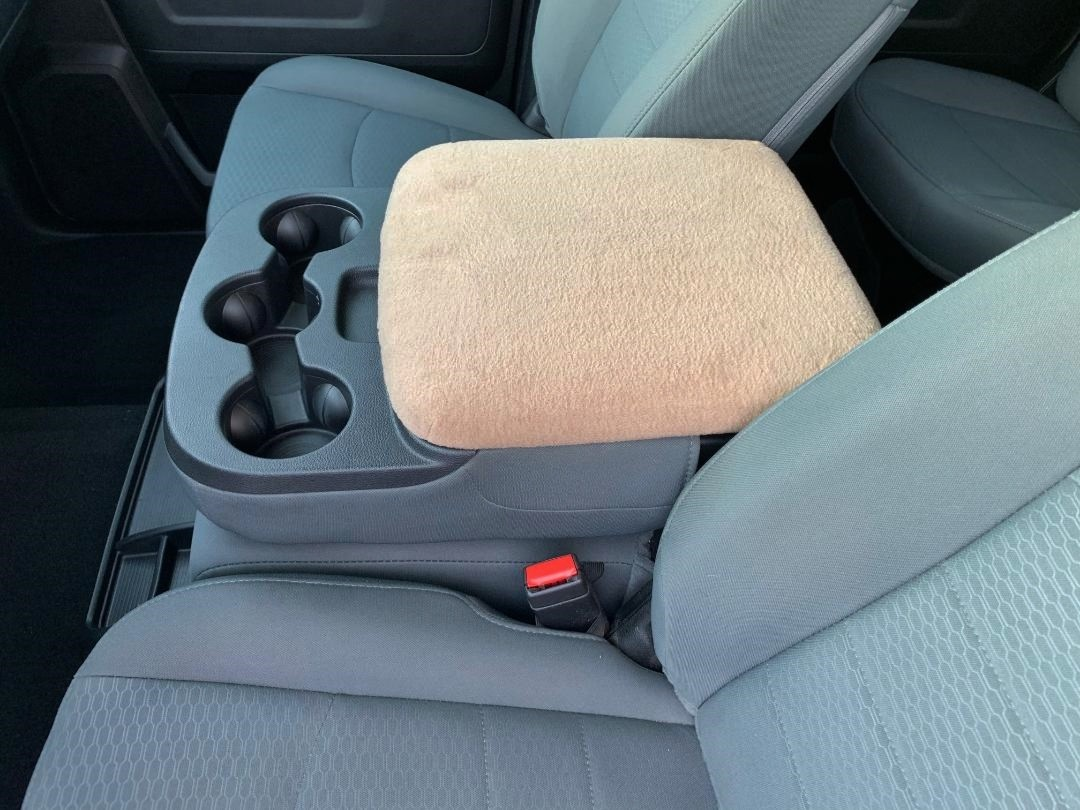 Fleece Console Cover - Ram 1500, 2500, & 3500 (2012-2020 Classic 3rd front row seat)