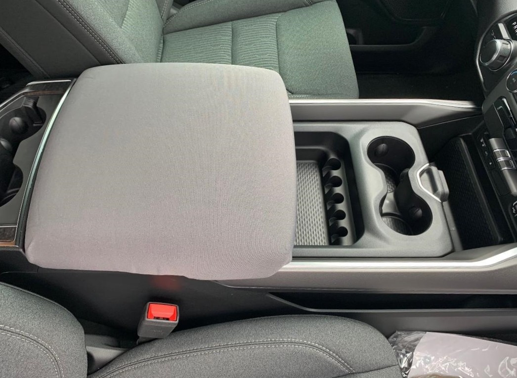 Neoprene Console Cover- Ram 1500, 2500, & 3500 (2019 - 2020 Laramie, Limited, Big Horn, Tradesman)W/Middle Fold Down Seat