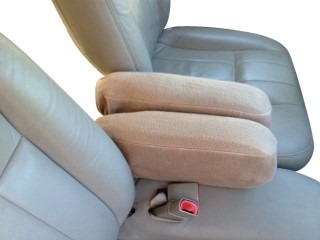 Ford Crown Victoria & Mercury Grand Marquise - Armrest Covers Fleece Material (Monster)