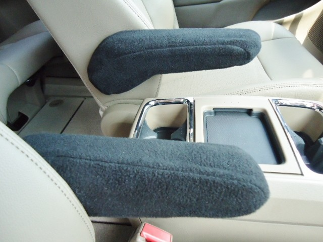 Chrysler Town & Country 2012-2017 - Armrest Covers Fleece Material- Large Slim