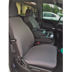 Full Seat Covers for Chevy Silverado 2014-19-(Pair) Cover Neoprene Material