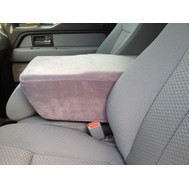 Ford F150, F250, & F350 Console Cover - Fleece Material
