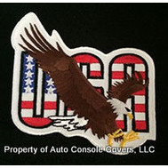 "USA 2"" x 3"" Eagle Patch (Patch Only)"