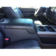Ford F150, F250, & F350 (2007-14) - Neoprene Material YOUR CONSOLE SHOULD RESEMBLE THE PICTURE PROVIDED