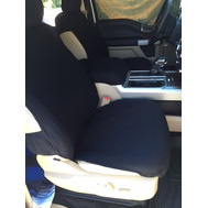 Full Bucket Seat Covers-Pair Fleece Material