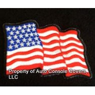 American Flag Patch 2 Waves (PATCH ONLY!)