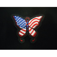 FLAG BUTTERFLY PATCH