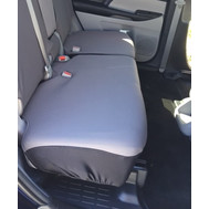 Rear Split Bench Bottom Seat Covers-Ford Explorer 2011-17 Neoprene