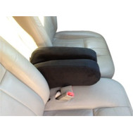 Armrest Covers- Ford Crown Victoria & Mercury Grand Marquise - Fleece Material (Monster)