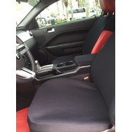 Bottom Only Seat Cover for a Ford Mustang 2005-2008-(SINGLE) Neoprene Material