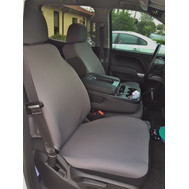 Full Seat Covers for Chevy Silverado 2014-19-(SINGLE) Cover Neoprene Material